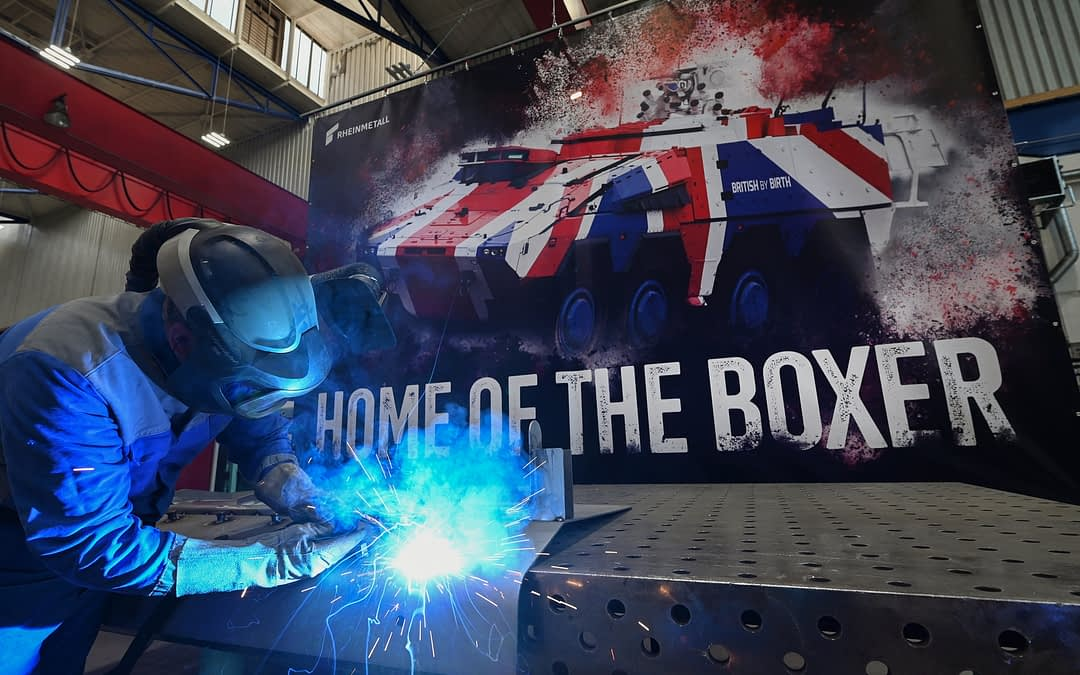 Boxer für Großbritannien – Serienanlauf beginnt planmäßig am Rheinmetall-Standort Kassel