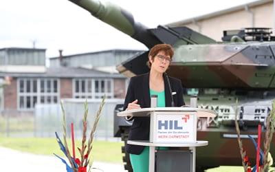 Entwicklung der Heereslogistik mit dritter Absichtserklärung in Darmstadt