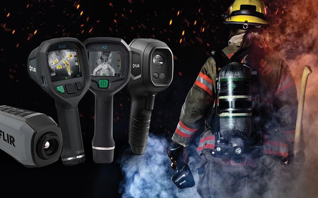 FLIR verlost Wärmebildkameras für die Brandbekämpfung