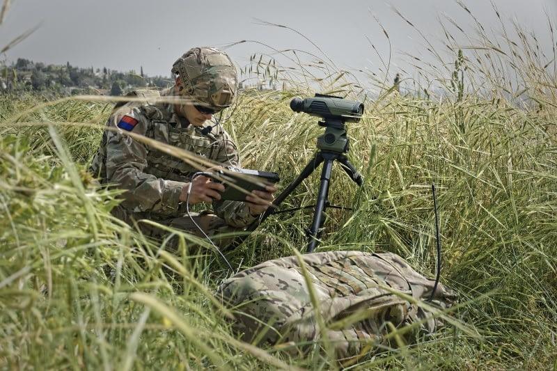 Britische Streitkräfte erhalten System für Joint Fire Support Team abgesessenen