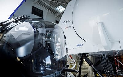 Erfolgreiche EASA Level D Qualifizierung des H135 Full Flight Simulator