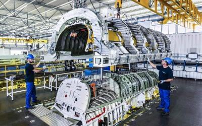 Premium AEROTEC produziert teile für 38 Eurofighter aus Quadriga-Bestellung