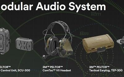3M stellt PELTOR Tactical Modular Audio System vor