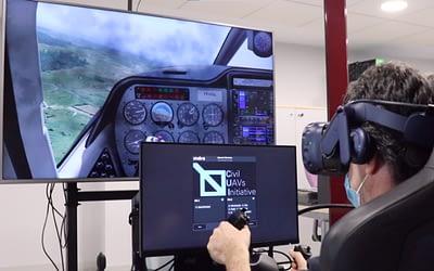 Indra entwickelt VR basiertes Simulationssystem, das die Pilotenausbildung verkürzt