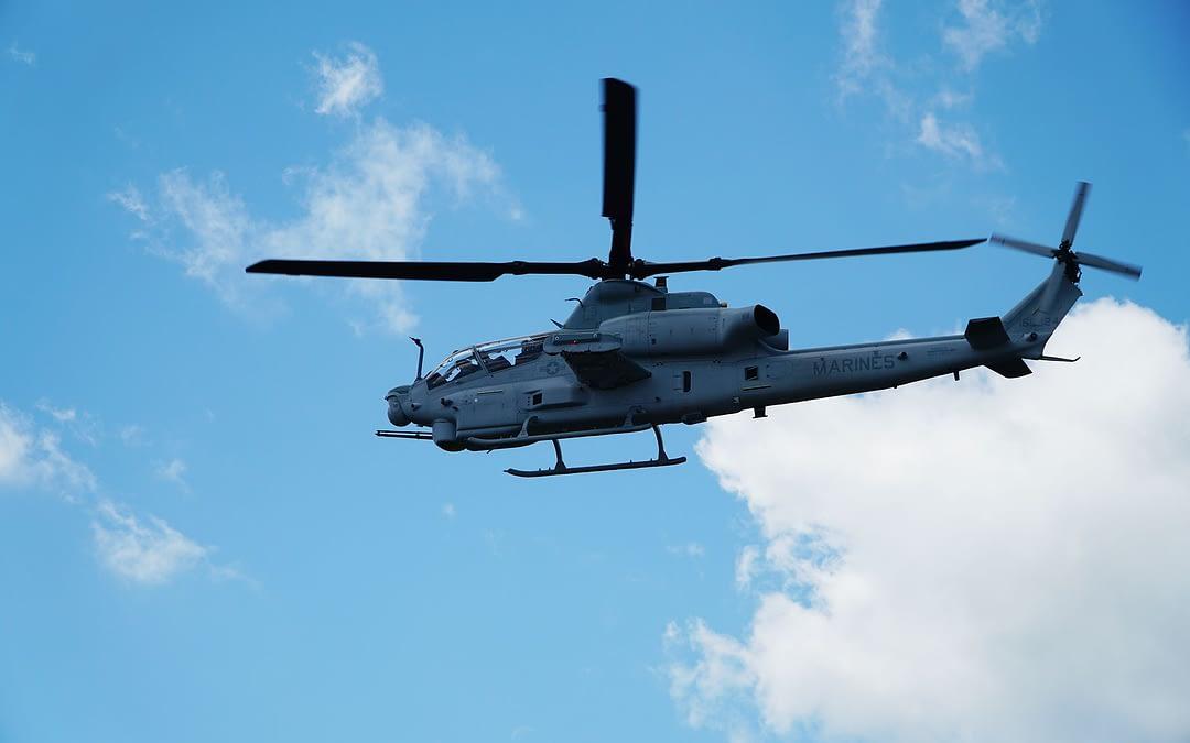 USMC führt ersten Flug des AH-1Z mit Link-16 durch