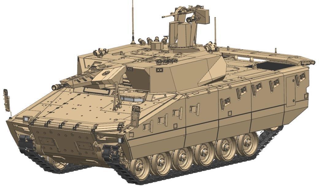 Aktives Schutzsystem für Lynx-Schützenpanzer in Ungarn