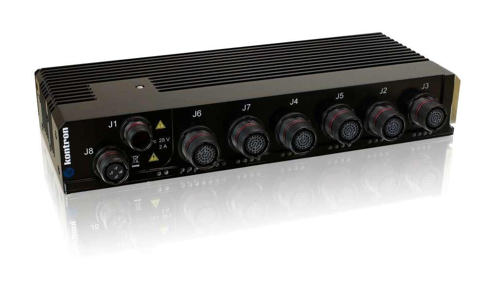 Kontron CERES-2402-PTP Rugged Ethernet Switch für militärische Netzwerke