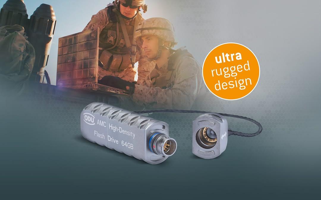 ODU AMC stellt HD-Flash Drive mit 12 Polen vor