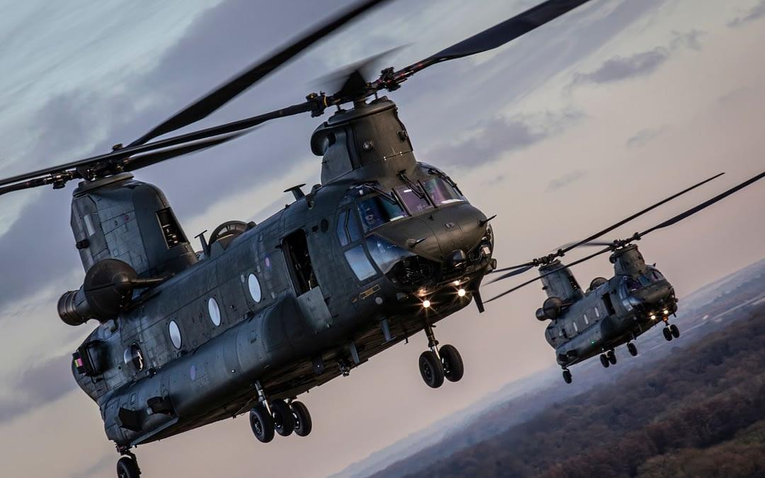 RAF modernisiert seine Chinook Flotte für GBP 1,4 Milliarden