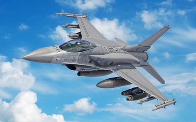 Slowakische F-16 Vipers fliegen mit R&S Funkkommunikation