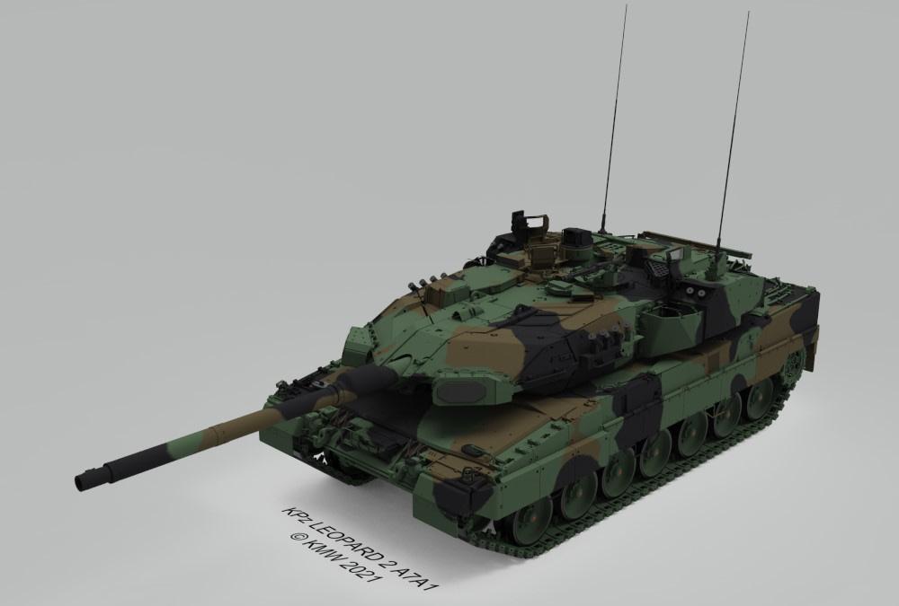 Bundeswehr rüstet Leopard 2 mit Trophy aus