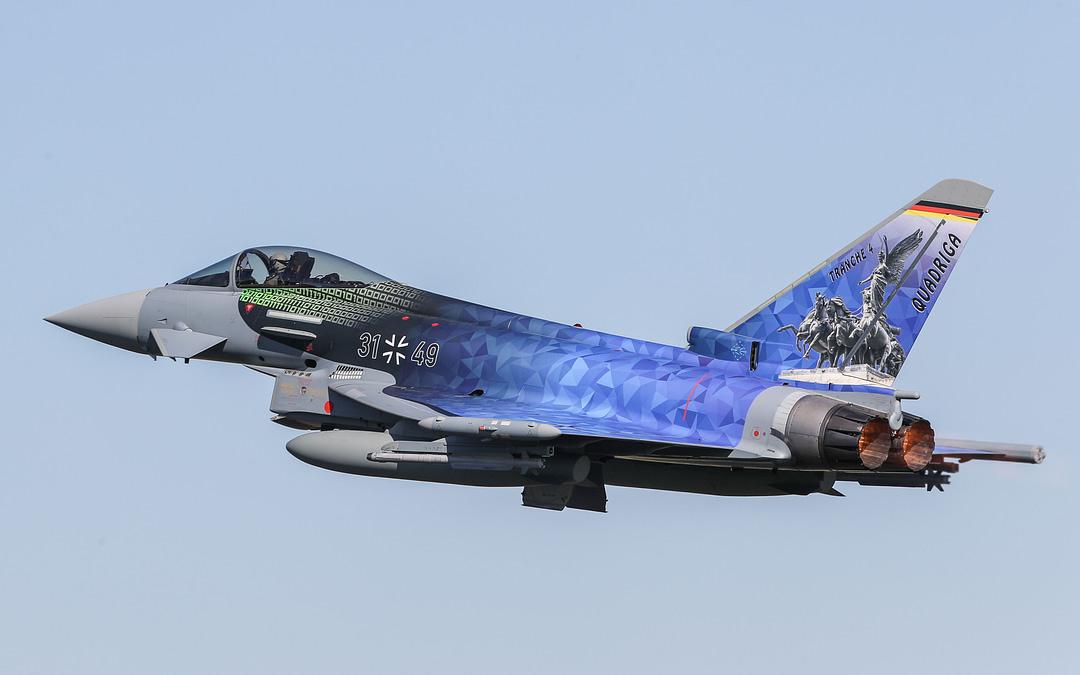 Projekt Quadriga: Luftwaffe erhält 38 neue Eurofighter