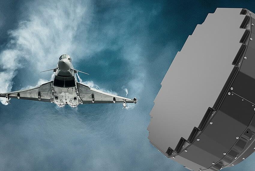 HENSOLDT liefert Radare für 'Quadriga'-Eurofighter
