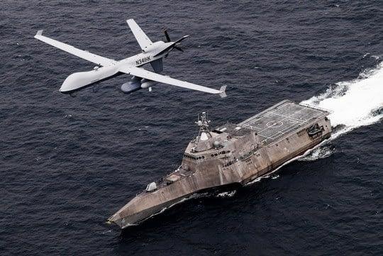 SeaGuardian hat an Manned-Unmanned-Teaming-Übung der U.S. Navy teilgenommen